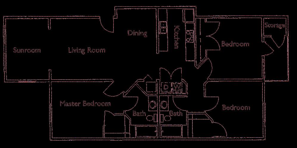 Park Crossing floorplan